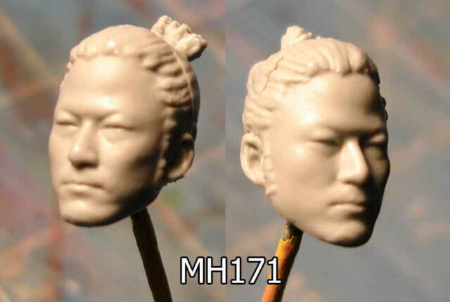 MH171 Custom Male head cast for use with 3.75