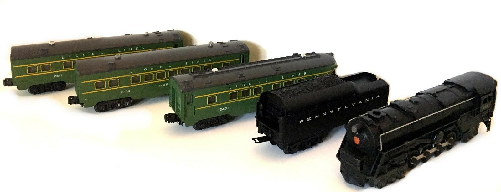Lionel 2140WS Postwar Set 1949 and Catalog and Selected Literature No Boxes