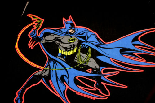G 3 PEZZI remant BATMAN 1991 D C FUMETTO Cotton Craft Hobby APPLIQUE Trapunta in tessuto