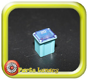 s l300 20 amp light blue ultra micro fusible automotive link fuse for ford