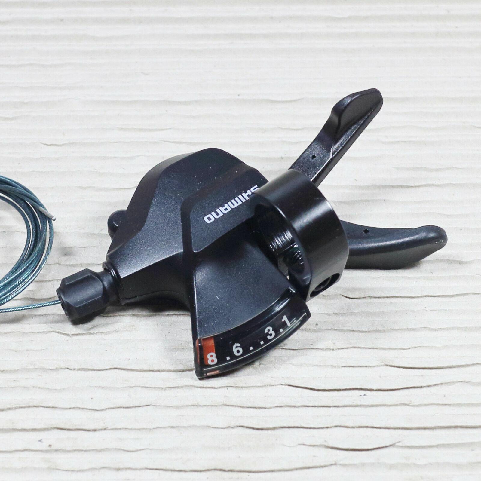 Shimano Schalthebel Set SL Hülle M315 schwarz 3x8  24Gang inkl Schaltzug