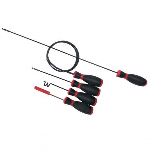 5 piezas Kit de subprocesos Telar de alambre-herramientas de cableado de automoción