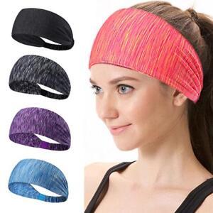 Women s fashion fitness yoga wide elastic turban headband hair ... 7278c2424ea