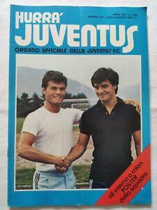HURRA-039-JUVENTUS-N-7-8-LUGLIO-1979-POSTER-A-COLORI-SQUADRA-PAOLO-ROSSI-ZOFF