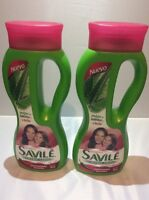 2 Shampoo Savile Control Caida Pulpa De Sabila Y Chile 2 Pack Of 750 Ml Hair