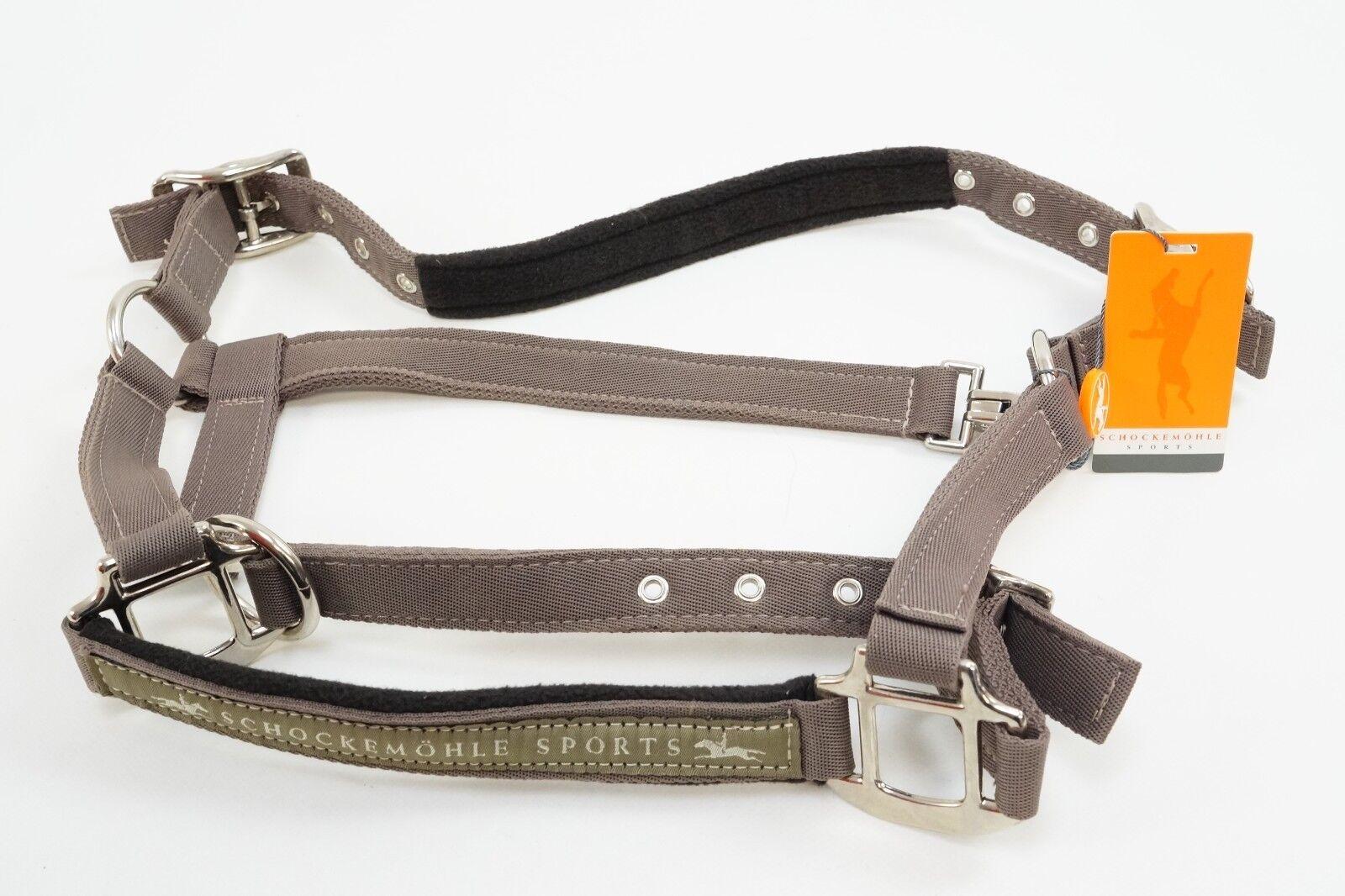 Schockemöhle Sports nylon nylon nylon pistolera memphis nuevo marrón  protección post-venta