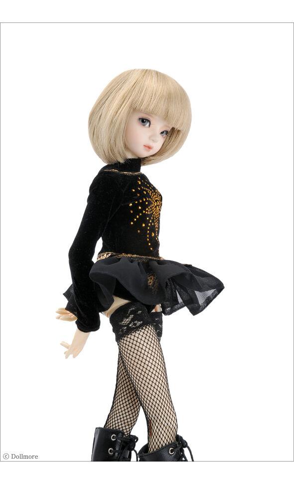"Flower Black Sovido Overalls Set A2 Dollmore 17/"" 1//4 BJD clothes MSD SIZE"