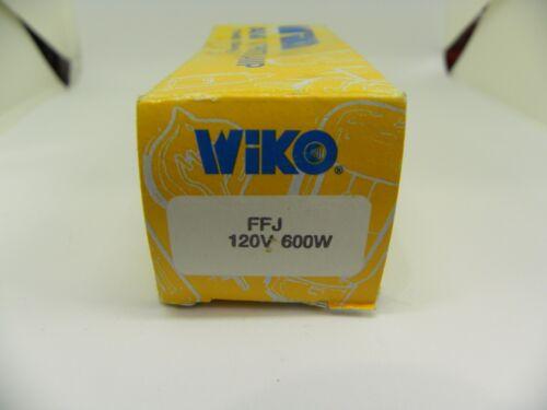WIKO Projector Lamp Bulb FFJ 120 Volt 600 Watt NOS Slide Projection Movie