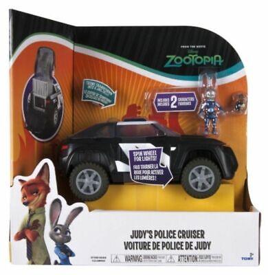 Disney Zootropolis Deluxe Veicolo-judy's Police Cruiser * Nuovo Di Zecca *-mostra Il Titolo Originale