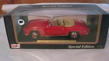 Classic 1955 Mercedes-Benz 190 SL In A Red 118 Scale Diecast By Maisto NEW dc185