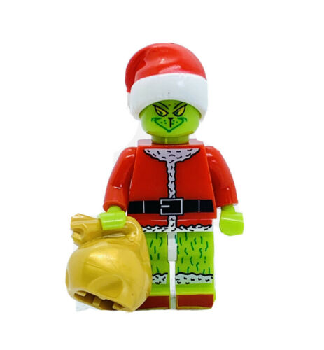 The Grinch Custom Figure #249 US SELLER - FITS LEGO