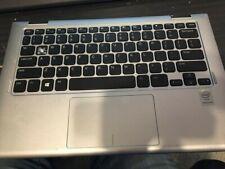 Genuine DELL INSPIRON 11 3147 3148 Laptop PALMREST W// KEYBOARD 7W4K6 Silver