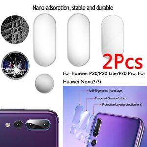 Details about 2x Huawei P20 Pro Lite/Nova 3e/3i Back Camera Lens Tempered  Glass Protector Film
