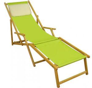 Liegestuhl Mit Fußteil.Details Zu Liegestuhl Pistazie Fußteil Kissen Klappbar Sonnenliege Gartenliege 10 306 Nfkh