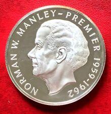 1974 Jamaica Silver Coin 5 Dollar