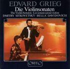 Grieg - Violin Sonatas Edvard Grieg Audio CD