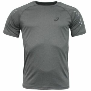 Asics MotionDry Short Sleeve Grey Mens