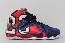 Men's Nike LeBron XII SE What The Multi-Color Phantom-Metallic 802193-909 Sz 10
