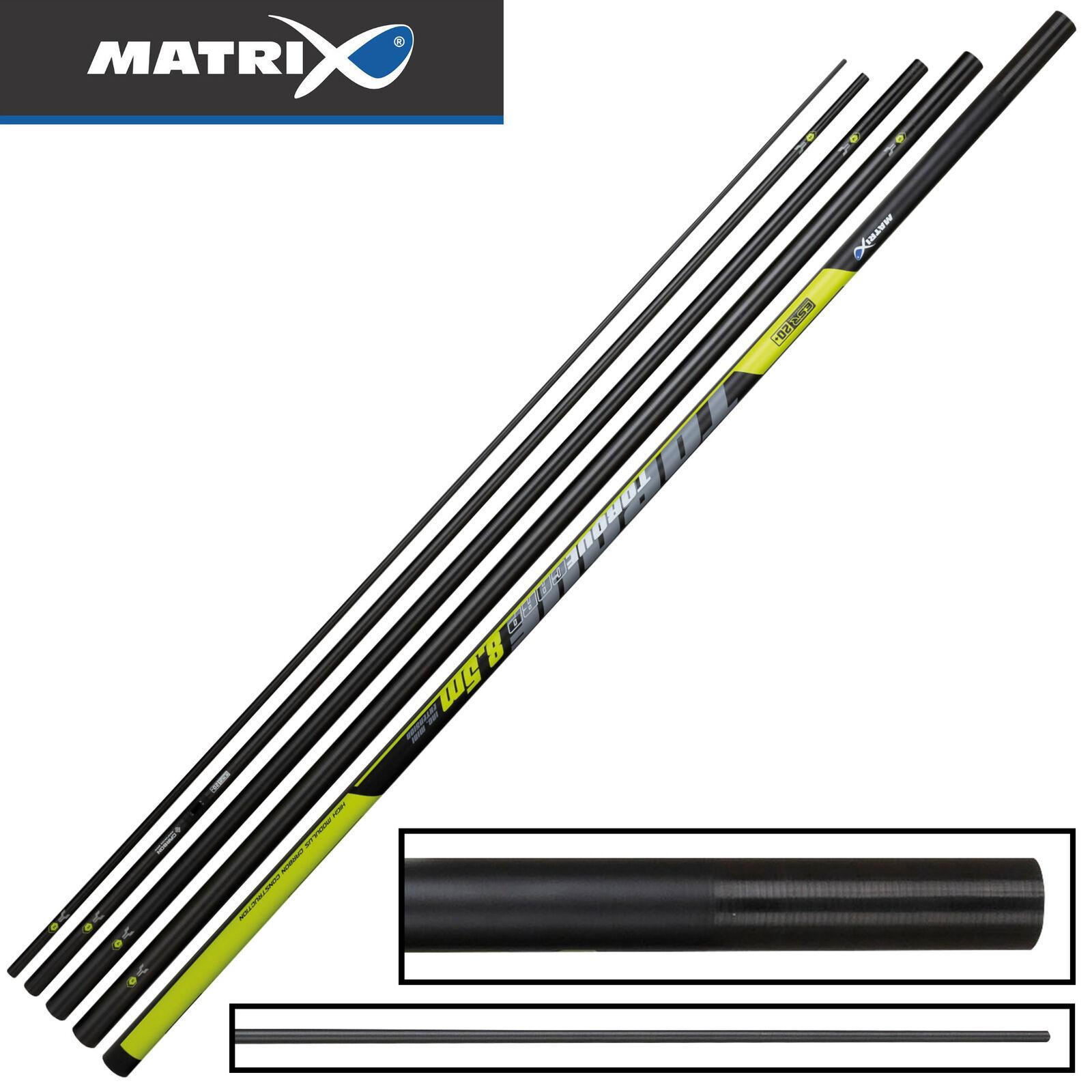 Fox Matrix Torque Carp Pole 8,5m - Stipprute, Friedfischrute, Kopfrute
