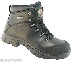 3706d86d3de Details about Rock Fall Tomcat Denver TC1070A S3 Black Waterproof  Non-Metallic Safety Boots