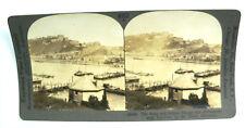 Keystone Stereoview Card - W252 - Ehrenbreitstein Fortress Rhine Germany