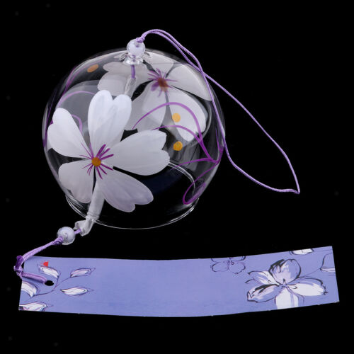 Japanische Wind Bell Windspiele handgemachte Glas Furin Home Dekore Spa