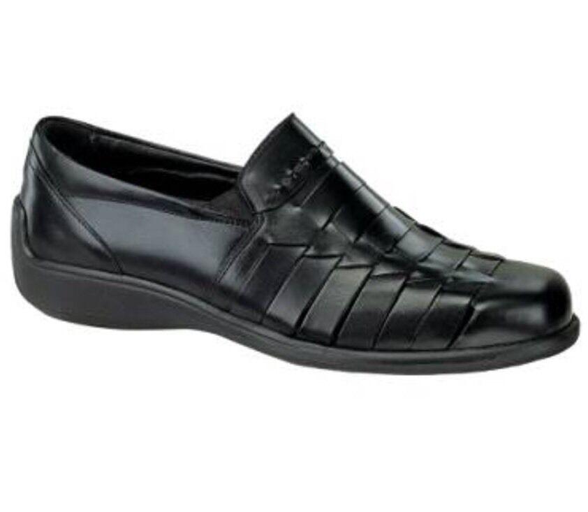Neil M Capri II Homme en Cuir Véritable à Enfiler Chaussures Noir 9 D  215