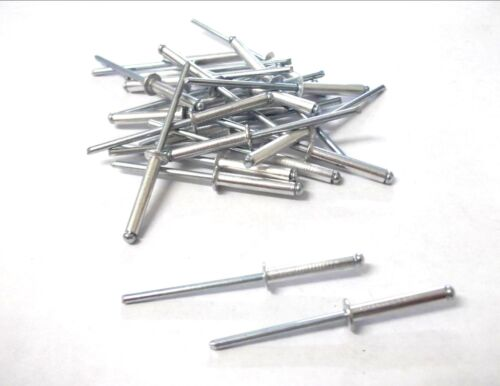 Pack of 100 3.2 x 16mm Blind rivets *Top Quality! Aluminium pop rivets