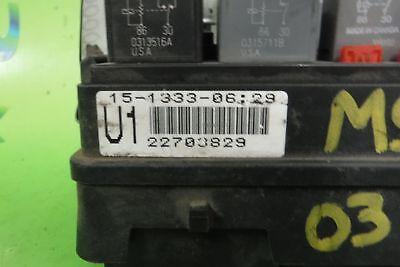 22703829 SATURN VUE 02 03 ENGINE FUSE BOX   eBay