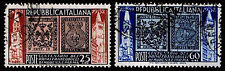 1952 ITALY #602-03 FIRST STAMPS & BELL TOWER - USED - F/VF - CV$15.15 (ESP#1469)