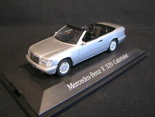 Herpa Mercedes-Benz E 320 Cabriolet 1:43 Silver (JvM)