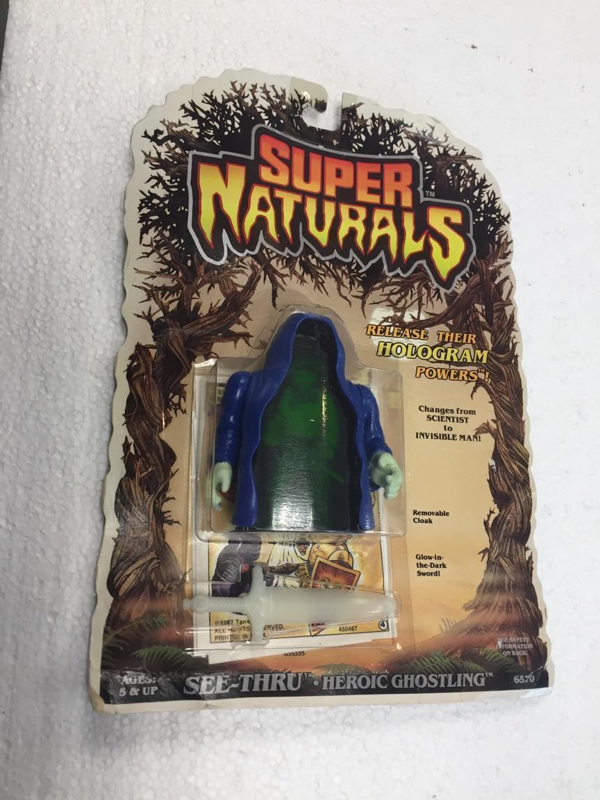 1986 Super Naturals See - Thru Heroic Ghostling by Tonka