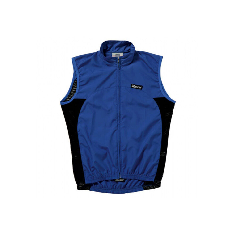 NEW SANTINI SUSHI LIGHTWEIGHT WINDPROOF CYCLING CYCLING CYCLING VEST GILET - ROYAL - ROTUCED b6253a