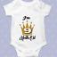 9 mois vieux Milestone Baby Grow Body personnalisé bébé cadeau