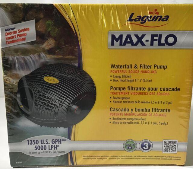 Laguna Next Gen Max-Flo 1350 Waterfall /& Filter Pump OPEN BOX