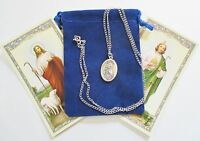 St. Jude Saint Medal With 24 Inch Necklace