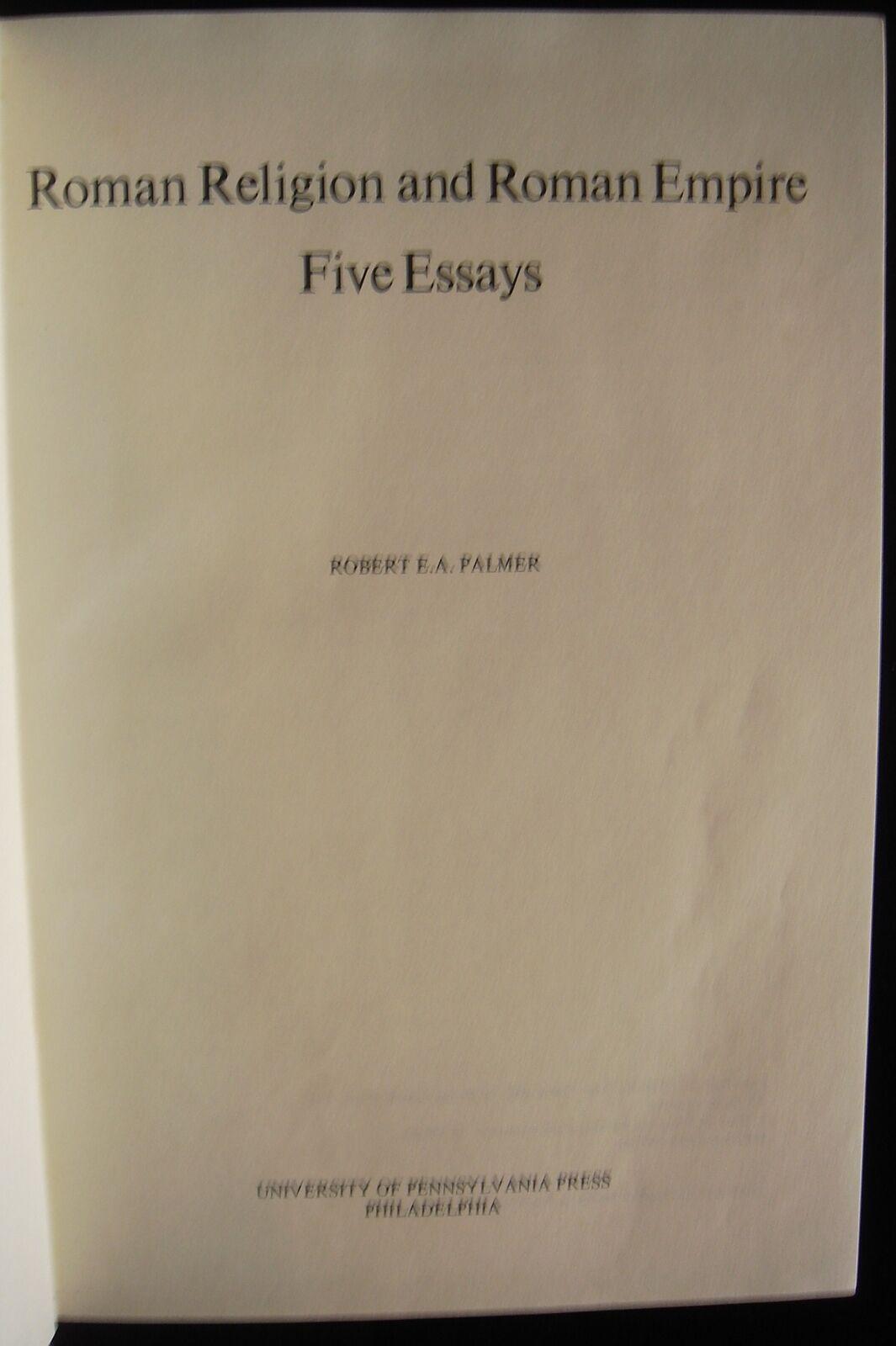 roman religion and roman empire five essays