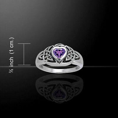 Celtique Entrelacs .925 Sterling Silver Ring par Peter Stone bijoux