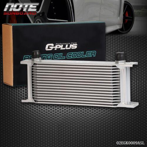 Universal Aluminum Engine Transmission 16 Row AN10 10AN Racing Oil Cooler