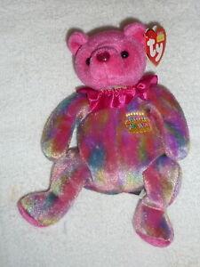 1a931742239 Ty Beanie Baby ~ JANUARY the Birthday Bear ~ RETIRED 2001 w  Tag 8 ...