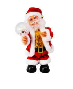 Weihnachtsmann Kamin Musik Nikolaus Santa Klettert Weihnachten Weihnachtsdeko W4