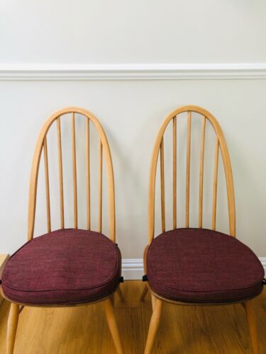6 MyHome New Cushions For Ercol Chairs With Straps And Press Studs