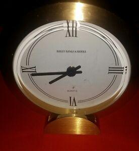 Rare Bailey Banks Biddle Brass Mantle Clock Ebay