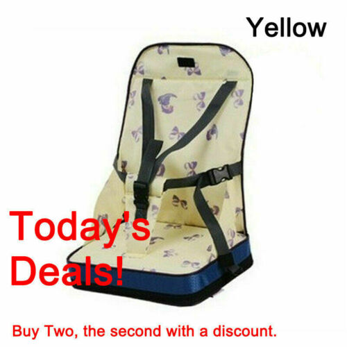 Baby Toddler Kids Infant Portable Booster Seat Eating Folding Dining Chair
