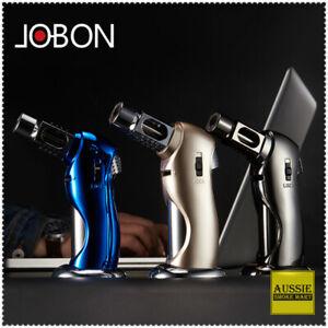 JOBON-High-temp-resist-jet-flame-safe-lock-Hand-Held-butane-CIGAR-TORCH-lighter