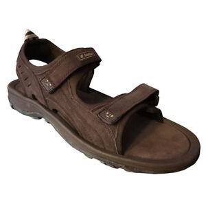 Dettagli su SANDALI LOTTO scarpe da uomo marrone J9172 taglia 45