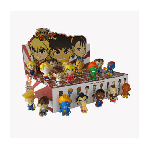 Kidrobot street fighter 3inch mini figure SEALED CASE