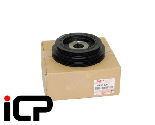 Genuine Crankshaft Crank Pulley Dual Rib Aux Belt For Suzuki Jimny 12610-80A01