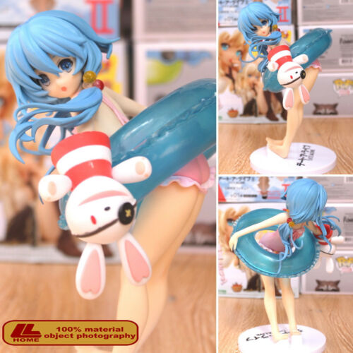"Anime Date A Live Yoshino Hermit Swimsuit Swimware 8/"" PVC Figure Toy Gift NIB"