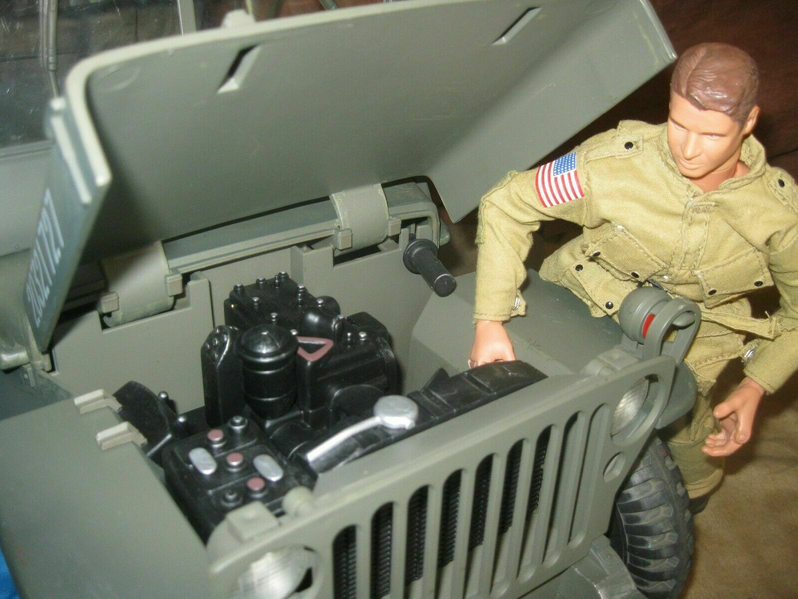 21st Century Toys Ultimate Soldier ''SPECIAL OFFER' WWII US  Willys Jeep G I Joe